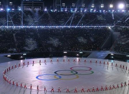 Откриха Зимните олимпийски игри в Пьонгчанг