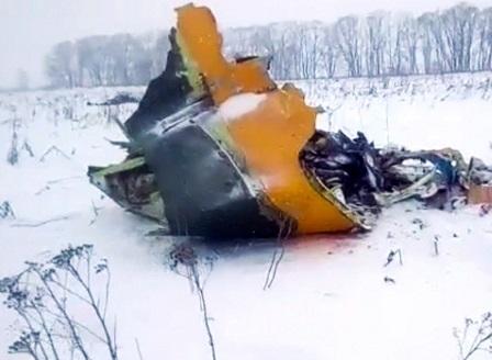 Разбилият се самолет в Русия е бил технически изправен по документи