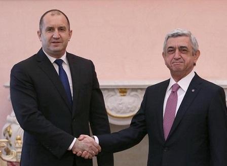 Румен Радев на двудневно държавно посещение в Армения