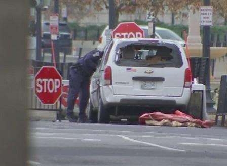 Автомобил се блъсна в бариерата на Белия дом