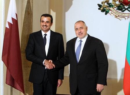 Емирът на Катар е на първо посещение в България