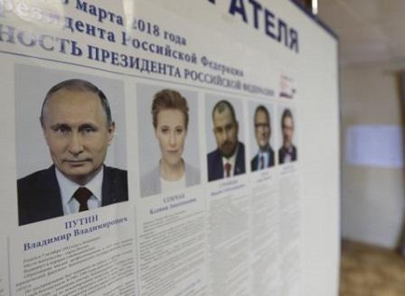 В Русия се провеждат президентски избори