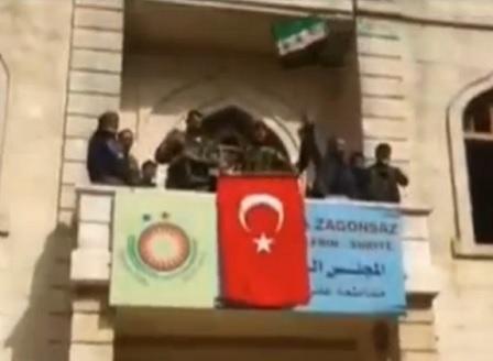 Турски военни превзеха центъра на град Африн