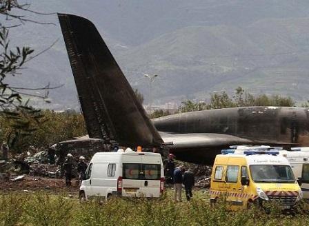 Над 250 станаха жертвите на разбилия се военен самолет в Алжир