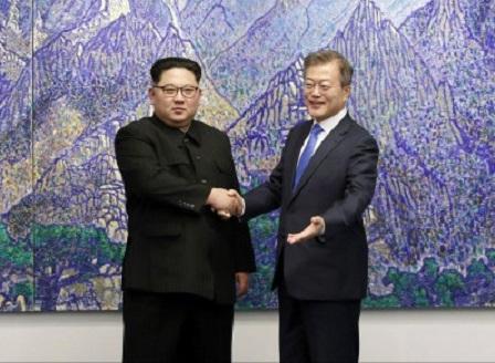 Състоя се историческата среща на върха между лидерите на двете Кореи