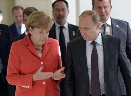 Среща между Меркел и Путин в Сочи