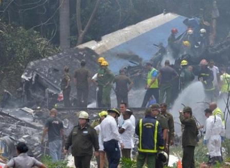 Куба обяви национален траур за жертвите на самолетната катастрофа