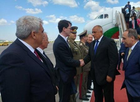 Премиерът Борисов пристигна в Москва