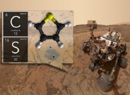НАСА обяви, че на Марс има органични молекули, което може да е знак за живот