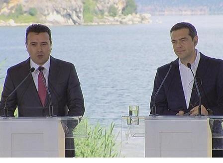 Скопие и Атина подписаха историческото споразумение за името на Македония