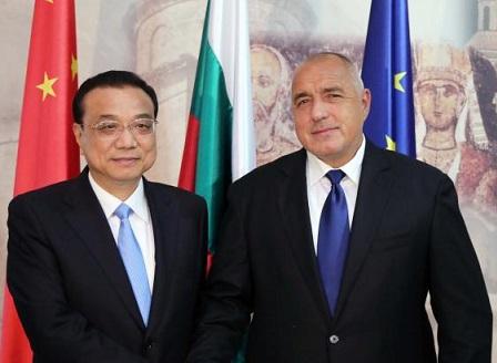 Бойко Борисов посрещна председателя на Държавния съвет на Китай Ли Къцян