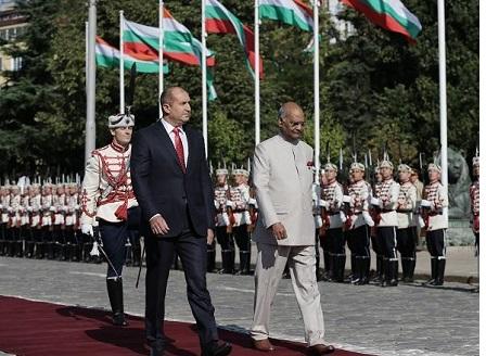 Индийският президент е на посещение в България