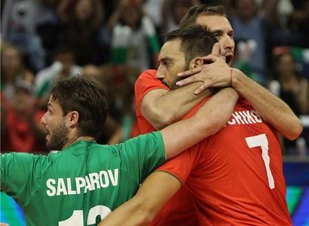 България победи Куба с 3:0 на Световното по волейбол