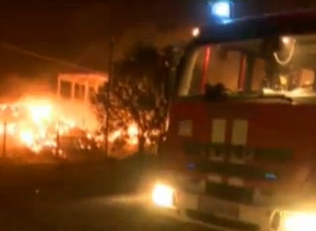 Локализирани са пожарите в района на ТЕЦ - Сливен