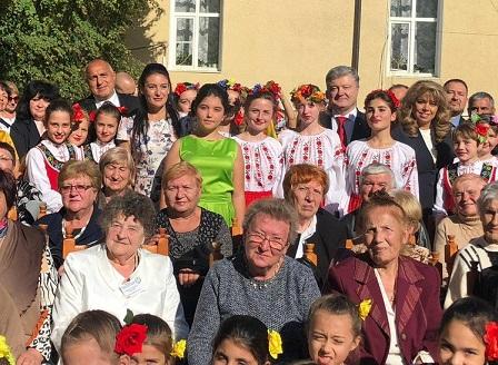 Борисов и Порошенко заедно на тържествата за 160 години Болградска гимназия