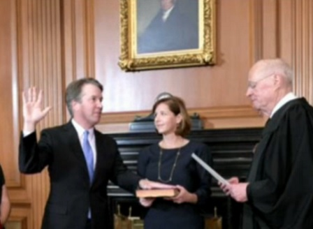 Брет Кавано беше избран за съдия във Върховния съд на САЩ