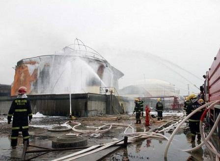 Експлозии до химически завод в Китай уби 22 души