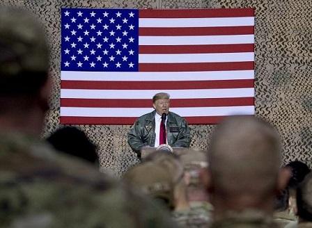 Тръмп направи необявено посещение в Ирак