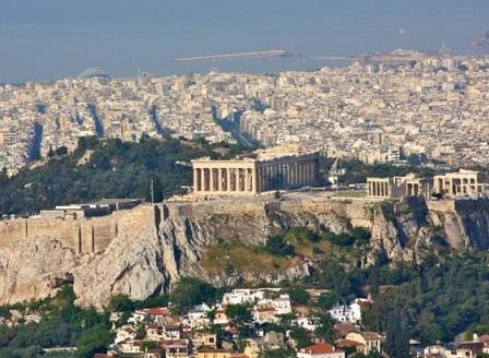 Взрив в центъра на Атина