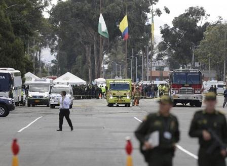 Атентат в колумбийската столица Богота