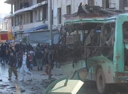 Трима цивилни загинаха след взрив в сирийския град Африн