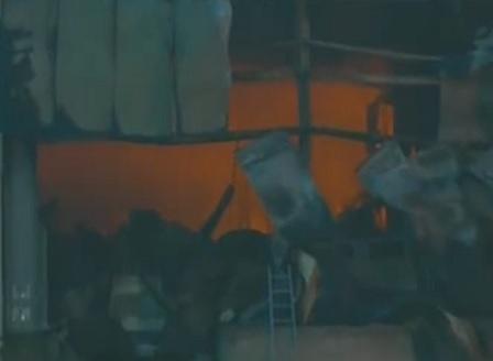 Завод за месо горя в с. Войводиново, пострадали хора няма