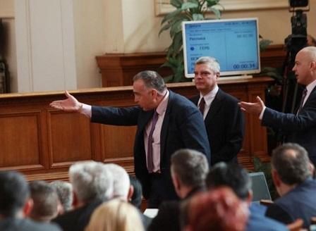 Скандал в парламента за Изборния кодекс
