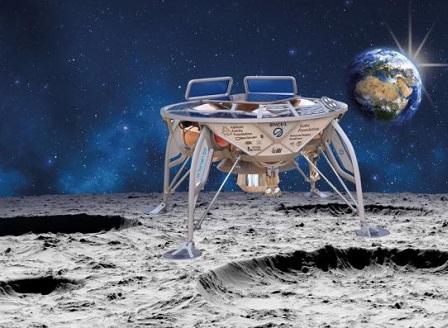 Първият израелски лунен робот беше изстрелян успешно