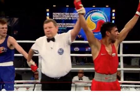 Даниел Асенов е европейски шампион по бокс за шести път