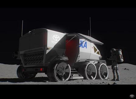 JAXA и Toyota с луноход за астронавти без скафандри (Видео)