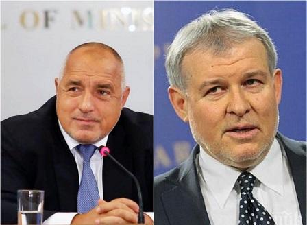 Борисов обеща на СДС 2 места в общата листа за евроизборите