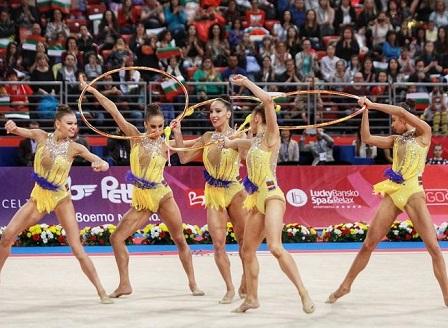 Златен медал за ансамбъла ни на Световната купа в София