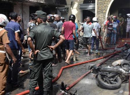 Стотици жертви при  експлозии в Шри Ланка