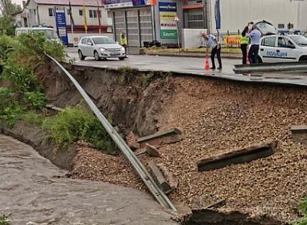 В Търговище започна оглед на щетите, причинени от пороите вчера