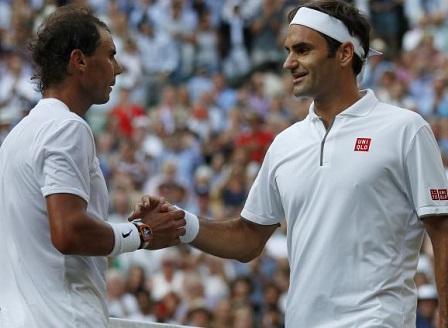 Федерер спечели титаничния сблъсък с Надал