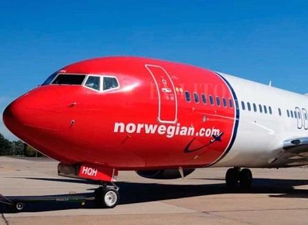 Голяма авиокомпания приема плащания в биткойн