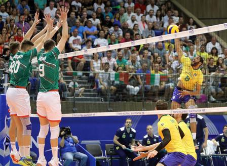 Националният отбор по волейбол изгуби от Бразилия