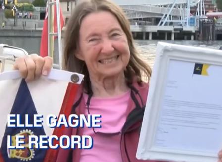 77-годишна британка стана най-възрастната жена, обиколила света по море сама