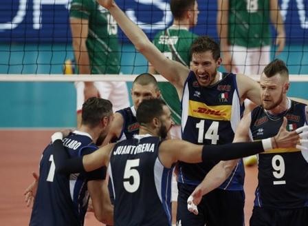 Волейболистите ни загубиха от Италия в Монпелие
