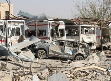 Най-малко души загинаха при взрив на кола- бомба в Авганистан