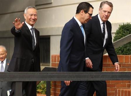 САЩ и Китай приключиха първия ден от търговските преговори с надежда за ограничено споразумение