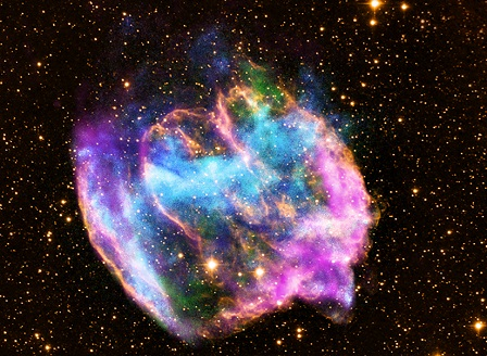 НАСА засече масивна термоядрена експлозия в Космоса