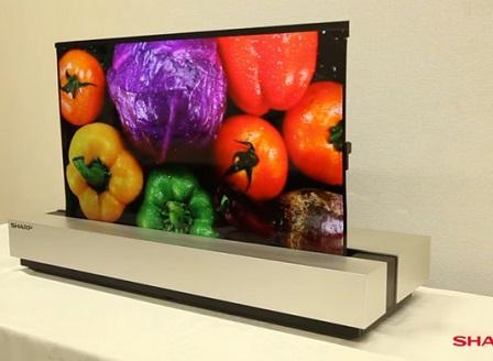 Sharp е готов със сгъваем телевизор (Видео)