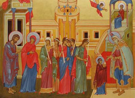 Днес е празникът на християнското семейство Въведение Богородично