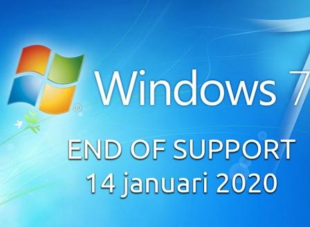 Поддръжката на Windows 7 изтече