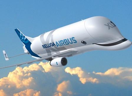 Airbus Beluga XL вече е в небето