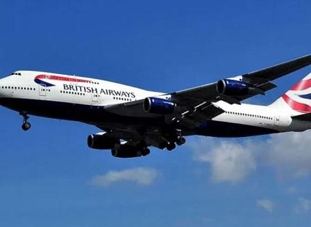Пътнически самолет на British Airways е първият, прелетял Атлантическия океан за под 5 часа