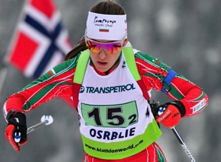 Милена Тодорова в топ 20 на 15 км на световното по биатлон