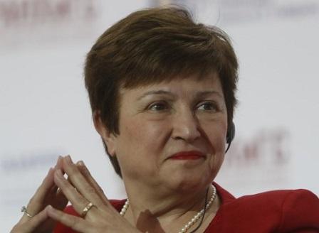 Кристалина Георгиева: МВФ прогнозира спад на българската икономика с 4 на сто тази година