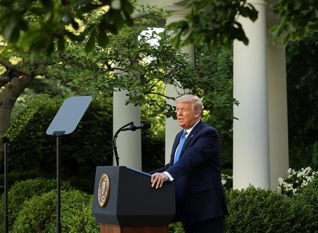 Тръмп готов да включи армията за справяне с безредиците в САЩ